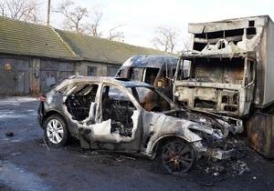 Милиция установила, что причиной возгорания автомобиля председателя одесской Свободы стала неисправность проводки