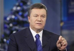 Янукович проведет Сочельник с ветеранами