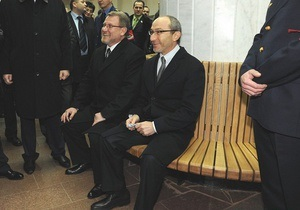 Колесников советует Кернесу и Добкину самим заплатить за лавки в харьковском метро