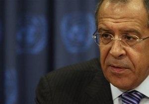 Лавров назвал условия участия России в урегулировании конфликта в Ливии