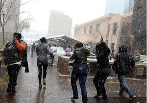 В Южной Африке из-за снега более двух тысяч жителей остались без жилья