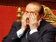 Берлускони обварился кипятком