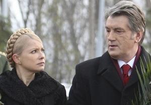 Ющенко: Дело Тимошенко отбросило Украину далеко от Европы, как и дело Гонгадзе