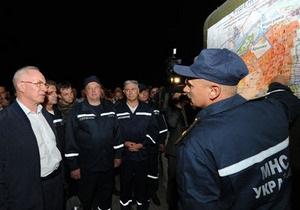 Пожар в Херсонской области: возбуждено уголовное дело по факту умышленного поджога