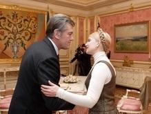 Тимошенко дождалась похвалы от Ющенко