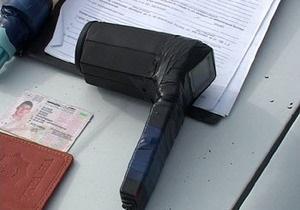 В Днепропетровской области псевдогаишники вместо радара использовали фен для волос