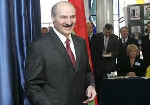 Лукашенко: Пусть завидуют, как у нас проходят выборы