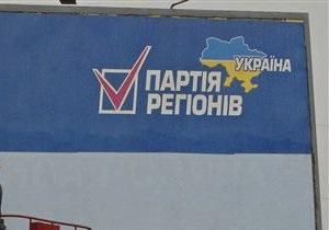 Центр Социс зафиксировал рост рейтинга Партии регионов