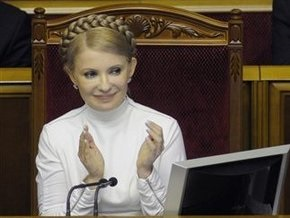 Тимошенко сняла свой антикризисный законопроект в пользу Ющенко