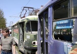 В Днепропетровске в трамвае произошел взрыв