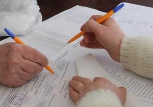ЦИК приняла более половины протоколов с мокрыми печатями