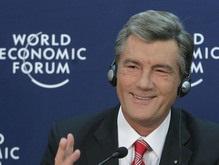 Ющенко в Давосе назвал Януковича популистом и обманщиком