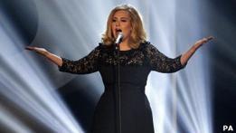 Адель: лучшая певица на Brit Awards