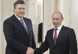 Пресса: Янукович будет решать с Путиным глобальные вопросы