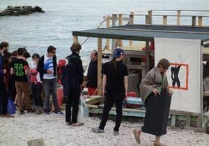 Союз хижин. Украинские художники представили альтернативную выставку на биеннале в Венеции