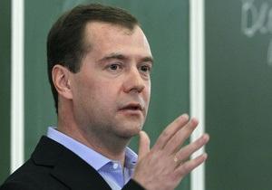 Премьер РФ Медведев хочет интеграции со странами СНГ через ратификацию ЗСТ