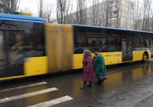 Общественный транспорт в Киеве будет курсировать с интервалом 6-7 минут - мэрия