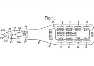 Apple запатентовала компьютер в виде ручки