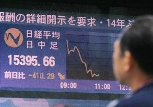 Азиатские рынки акций упали, кроме Гонконга