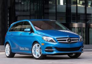Mercedes-Benz выпустил первый серийный электромобиль