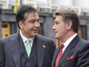 Путин рекомендует Саакашвили и Ющенко встречаться без галстуков