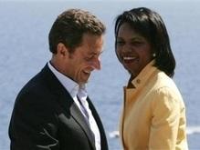 Саркози и Райс потребовали от Грузии и России прекратить огонь