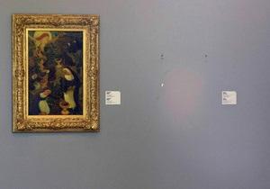 Полиция: похищенные в Роттердаме картины до сих пор не найдены
