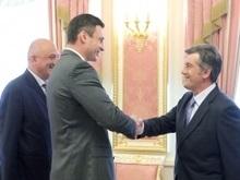 Ющенко поговорил с Кличко о работе Киевсовета