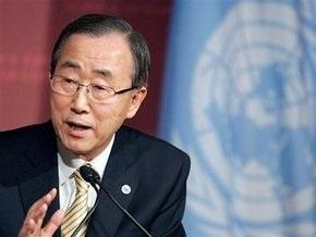 Генсек ООН призвал Судан прекратить бомбардировки провинции Дарфур