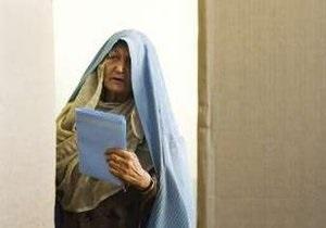 В Афганистане явка на выборах составила около 40%
