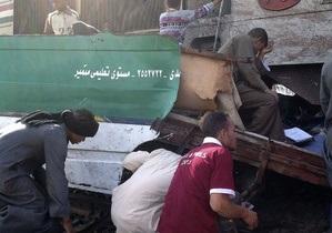 ДТП в Египте: наблюдатель на железнодорожном переезде заснул