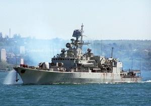 Украинский фрегат поучаствует в параде Черноморского флота России