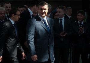 Янукович подписал изменения в Налоговый и Таможенный кодексы, а также закон о введении системы электронных госзакупок