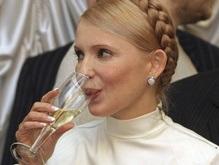 Тимошенко собирается выпить шампанского с главой Газпрома