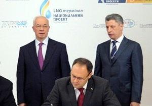 Украина зазывает инвесторов в оконфузившийся LNG-проект - Reuters