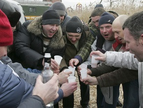 Власти Донецка призвали отказаться от алкоголя и табака во время кризиса