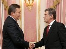 Встреча в Секретариате: Ющенко попросил, Янукович согласился