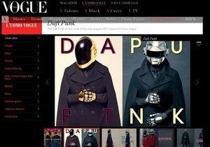 Daft Punk снялись для Vogue