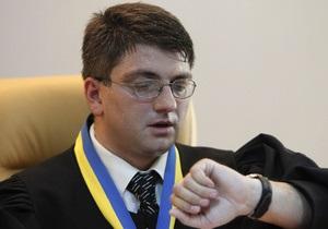 Судья по делу Тимошенко написал жалобу на ее адвоката