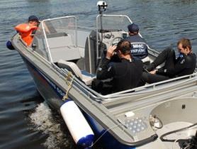 В Днепропетровской области столкнулись катер и моторная лодка