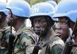 Четверо миротворцев ООН тяжело ранены во время атаки в Кот-д Ивуаре