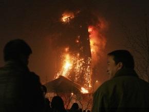 В Пекине арестовали виновников гигантского пожара в телецентре