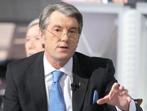 """Ющенко не удовлетворен тем, что правительство уменьшилось до """"одной солистки"""""""