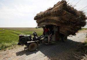 В Китае мужчина задавил на тракторе 14 односельчан