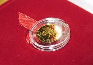НБУ выпустил новую золотую монету, посвященную пчелам