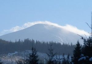 Около горы Говерла из-за ухудшения погоды заблудился 25-летний американец