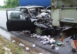 В Ровенской области произошло ДТП, один человек погиб, двое травмированы