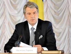 Ющенко не нравится, как развивается туризм в Украине