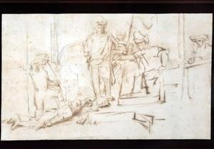 В США найден украденный рисунок Рембрандта