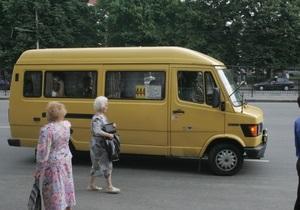 В Харькове осужден водитель, вытолкнувший льготницу из маршрутки